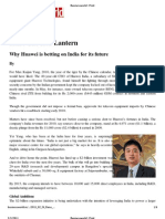 Business World _ Print_Why Huawei is Betting on India for Its Future