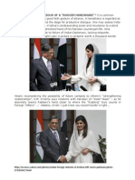 Indo_Pakistan Diplomacy_The Booger Handshake