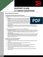 Support FAQ