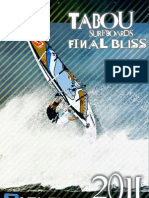 2011 Tabou Boards Manual