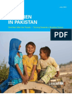 UNICEF Report Pakistan One Year After the Floods