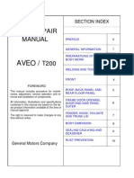 AVEO - Body Repair Manual