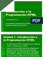 Curso de Programacion HTML