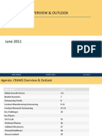 CRAMS Note, Overview and Outlook