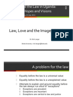Law, Love and the Image of God
