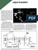 Horizontal Output Transistor Problems