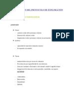 ELABORACIÓN DEL PROTOCOLO DE EXPLORACIÓN