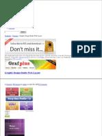 Graphic Design Studio Web Layout