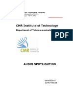Audio Spotlighting