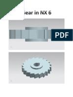 Gear in NX 6