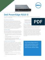 Poweredge R210 II Spec Sheet