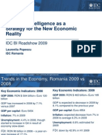 Business Intelligence as a Strategy for the New Economic Reality[1]