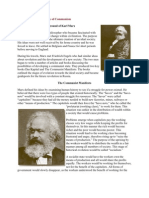 Karl Marx and the Theory of Communism
