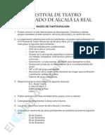 III FESTIVAL DE TEATRO AFICIONADO DE ALCALÁ LA REAL