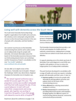 South West Dementia Partnership bulletin summer 2011