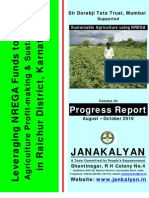 Leveraging NREGA funds to create productive agriculture assets to make agriculture profit-making & sustainable Vol III