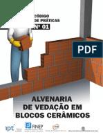 Codigo de Praticas n 01 ALVENARIA