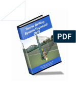 Tennis Betting Secrets Exposed 2008