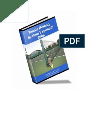 Tennis betting secrets revealed pdf995 tennis betting secrets revealed pdf995