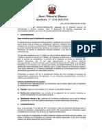 Resolución  N° 2529-2010-JNE NUMERO DE ESCAÑOS