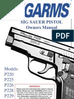 Sig Sauer Manual
