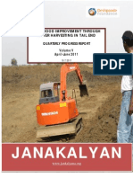 Livelihood Improvement of tail end farmers through water harvesting - Final Report Janakalyan Volume V