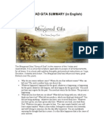 Bhagavad Gita Summary