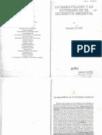 Lectura Jacques Le Goff