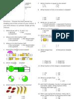 Examination in Math IV