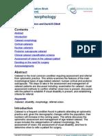 Cataract Morphology