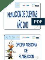Informe Rendicion de Cuentas 2010 1- [Modo de ad
