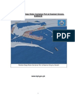 Article on Pakistan Deep Water Container Port
