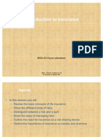 IRDA Chapter 1- Introduction to Insurance