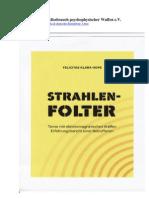 Strahlenterror Deutsche Betroffene 1 - Strahlenfolter