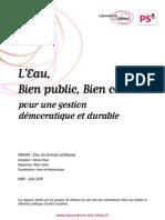 LAB Eau Bi en Public