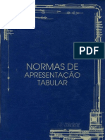 normas de apresentação tabular - IBGE 1993