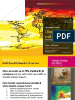 Climate Change and Cities Joburg