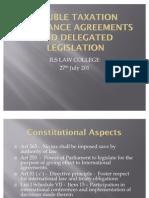 DTAA and Delegated Legislation PPT