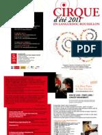 l'Agenda Du Cirque - Ete 2011