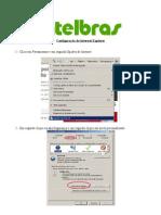 Configuração Internet Explorer