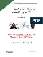 The Bio-Genetic Muscle Gain Program