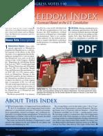 Freedom Index 112th Congress