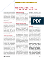 Cloud Point Glycols - Depleted Sands