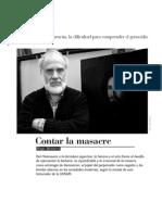 Gastón Burucúa, la dificultad para comprender el genocidio - rev NOMADA