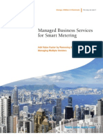 Managed Business Services for Smart Metering