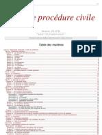 Procedure Civile Nouveau