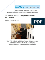 39 Percent of NYC Pregnancies Result in Abortion-NEWYORK.cbslOCAL.com-07-JAN.-2011
