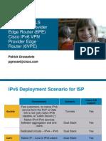 Ipv6 Over Mpls