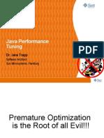 Presentation - Java Performance Tuning