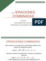 OPERACIONES COMBINADAS CON POTENCIAS Y RAÍCES VII